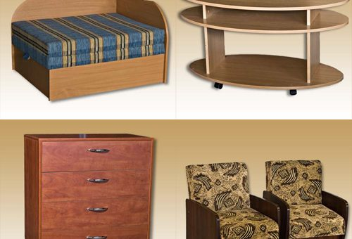 Įvairūs baldai