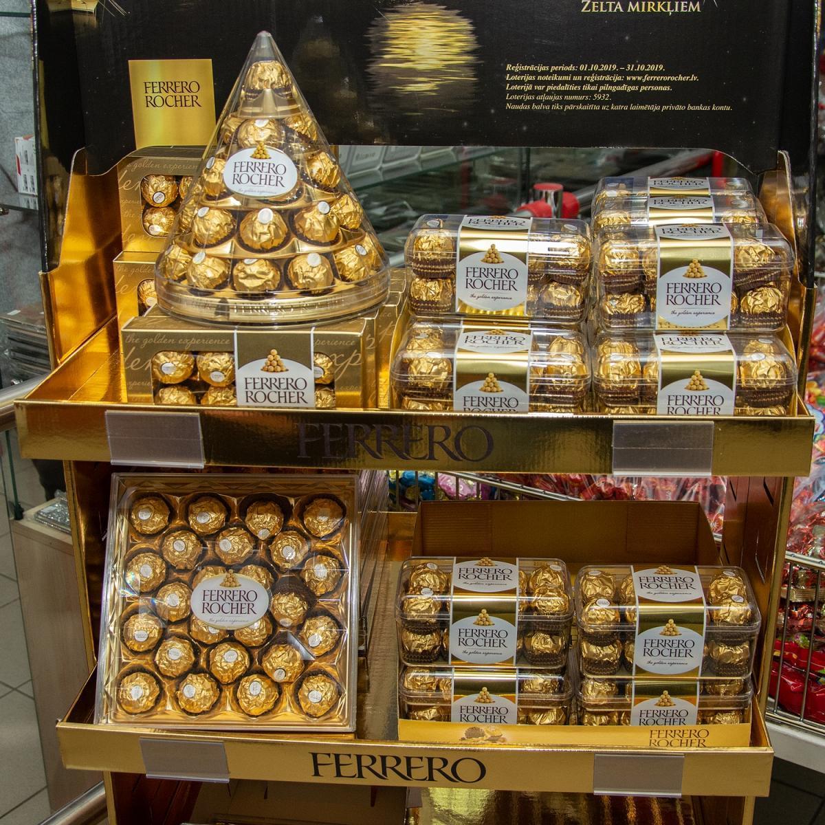 Ferrero saldainiai
